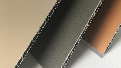 Panel compuesto de aluminio corrugado A2 FR 01
