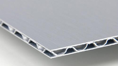 Panel compuesto de aluminio corrugado A2 FR 03