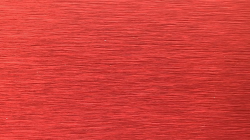 Brushed Red Aluminum Composite Panel