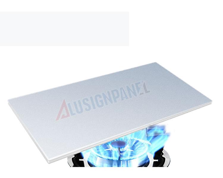 Panel compuesto de aluminio FR (ignífugo)