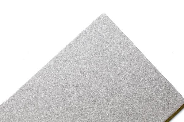 Panel compuesto de aluminio plateado flash SJ-8001
