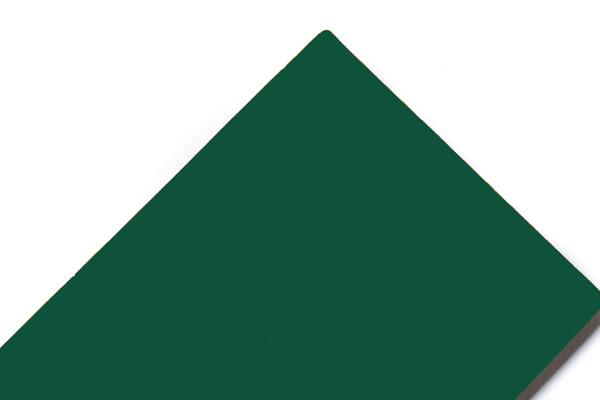 Panel compuesto de aluminio verde poste SJ-8025