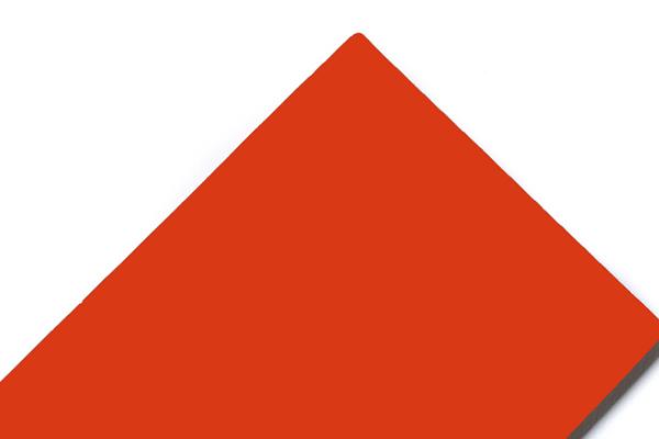 Panel compuesto de aluminio SJ-8040 naranja rojo