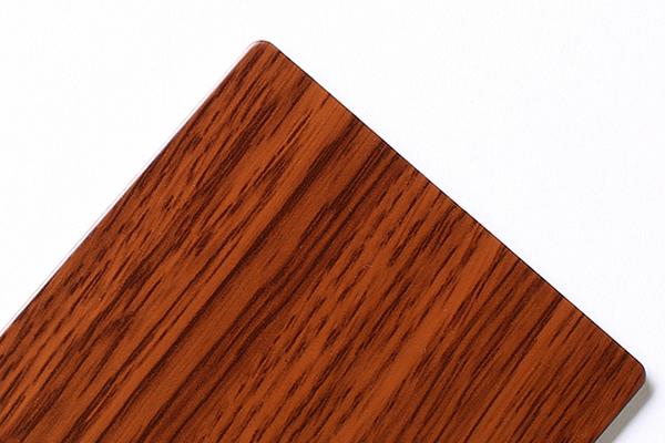 Panel compuesto de aluminio de madera y piedra SJ-T3
